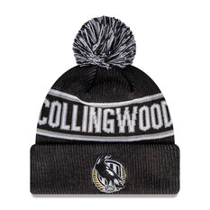 Collingwood Magpies New Era Supporter Beanie, , rebel_hi-res