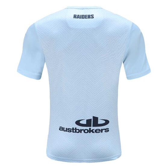 Canberra Raiders 2021 Mens Training Tee, Blue, rebel_hi-res