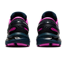 Asics GEL Kayano 27 Lite Show Womens Running Shoes, Blue/Silver, rebel_hi-res