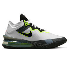 Nike LeBron 18 Low Air Max 95 Greedy Basketball Shoes White US 7, White, rebel_hi-res
