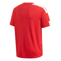 Adidas Boys Squadra 21 Jersey Red 6, Red, rebel_hi-res