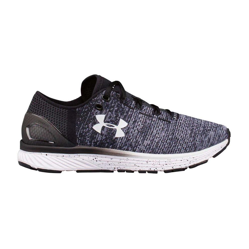 dc05e82faec2e Under Armour Charged Bandit 3 Womens Running Shoes Black / White US 6,  Black /