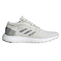 adidas Pureboost GO Mens Running Shoes Grey / White US 8, Grey / White, rebel_hi-res