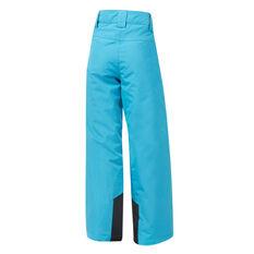 Tahwalhi Girls Kick Ski Pants Blue 4, Blue, rebel_hi-res