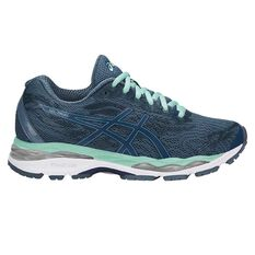 Asics Gel Ziruss Womens Running Shoes Blue / Green US 6, Blue / Green, rebel_hi-res