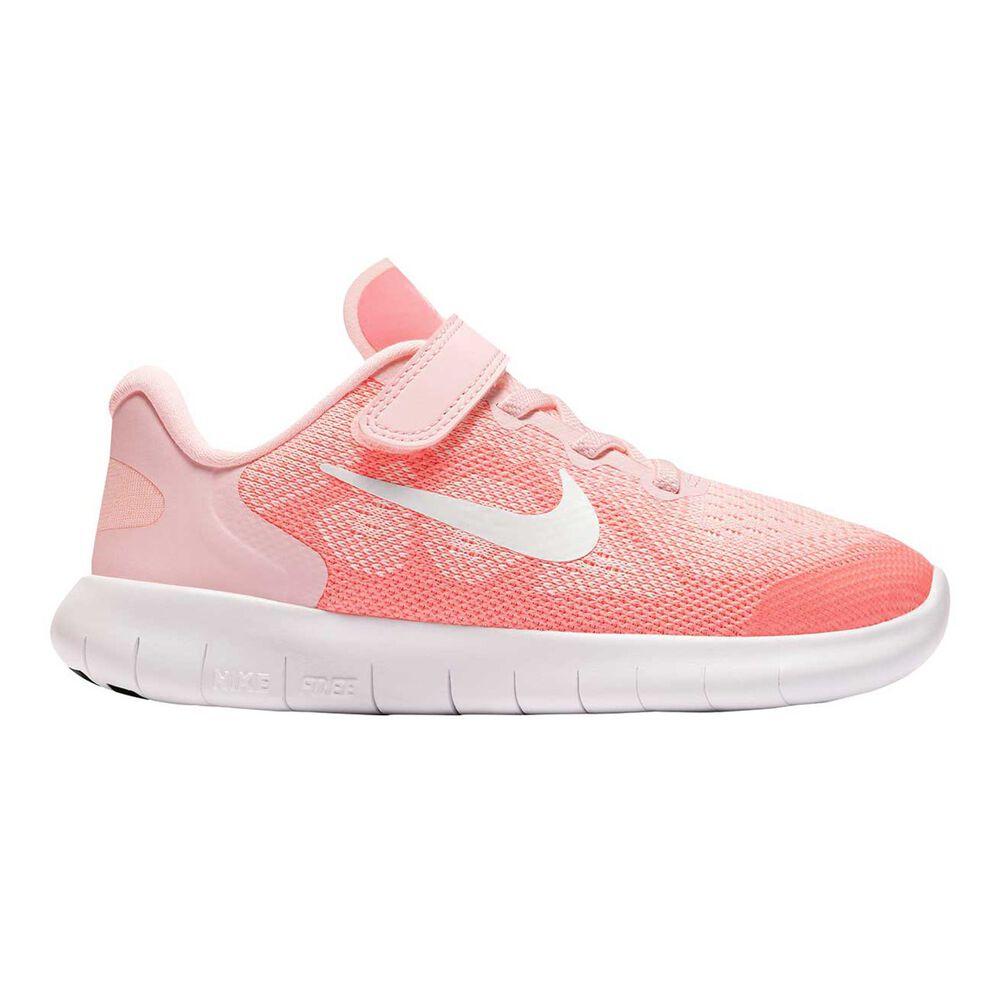 promo code 5f9db eb098 Nike Free Run 2017 Junior Girls Running Shoe Pink   White US 2, Pink