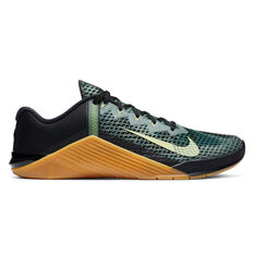 Nike Metcon 6 Mens Training Shoes Black/Green US 7, Black/Green, rebel_hi-res