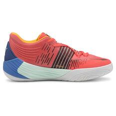 Puma Fusion Nitro Basketball Shoes Red/Blue US 7, , rebel_hi-res
