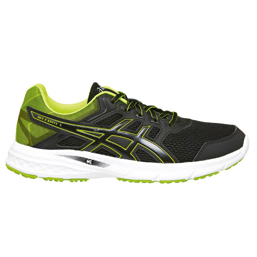 7e21fc58fc5f Asics Gel Excite 5 Mens Running Shoes Black   Yellow US 11