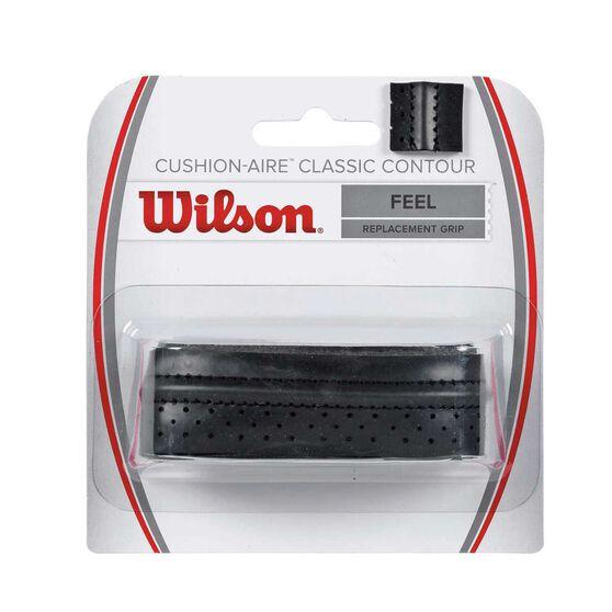 Wilson Cushion Aire Contour Grip Black, , rebel_hi-res