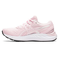 Asics GEL Excite 8 Kids Running Shoes Pink/White US 1, Pink/White, rebel_hi-res