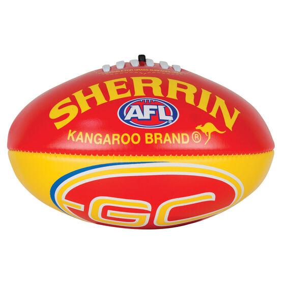 Sherrin AFL Gold Coast Suns Softie Ball, , rebel_hi-res
