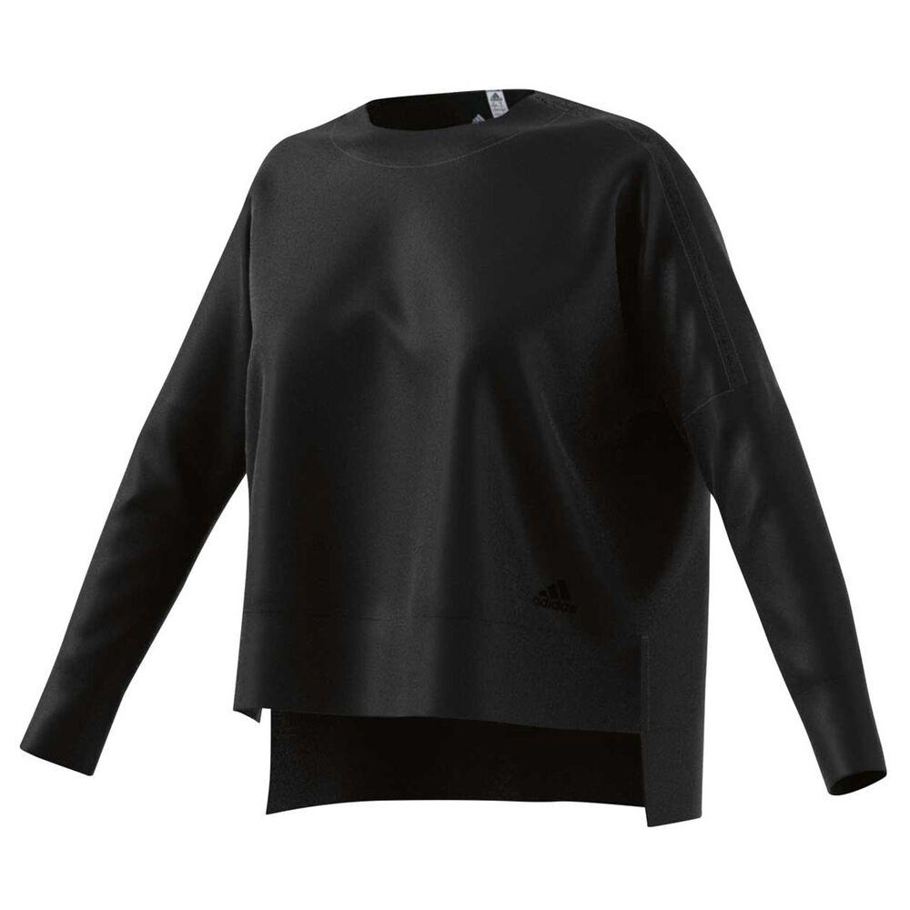 ba6efaae47 adidas Womens ID Glory Sweater Black S Adult
