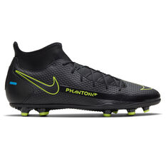 Nike Phantom GT Club DF Football Boots Black US Mens 7 / Womens 8.5, Black, rebel_hi-res