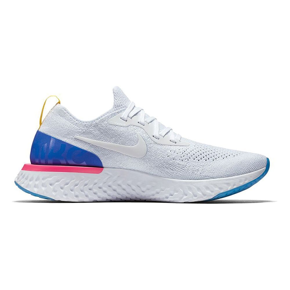 a9d31d83aca Nike Epic React Flyknit Womens Running Shoes White   Blue US 7 ...