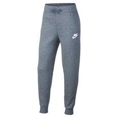 Nike Girls Sportswear Pants Grey XS, Grey, rebel_hi-res