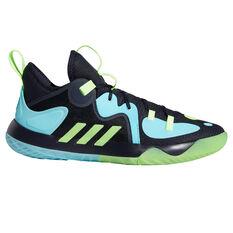 adidas Harden Stepback 2 Basketball Shoes Blue US 7, Blue, rebel_hi-res