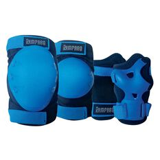 Rampage Inline 3 Pack Protection Kit Blue XS, Blue, rebel_hi-res