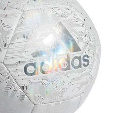 adidas Capitano Soccer Ball White 4, White, rebel_hi-res