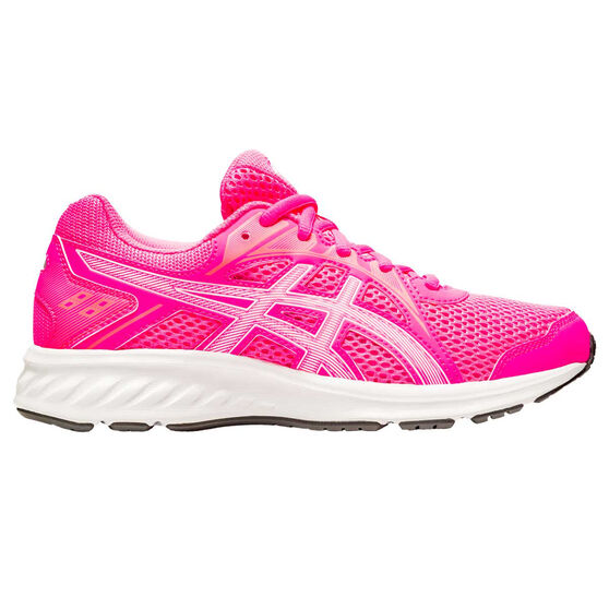 Asics Jolt 2 Kids Running Shoes, Pink/White, rebel_hi-res
