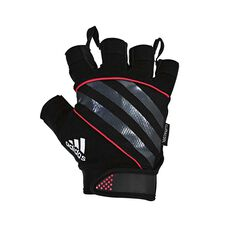 adidas Performance Weight Training Gloves Red S, Red, rebel_hi-res