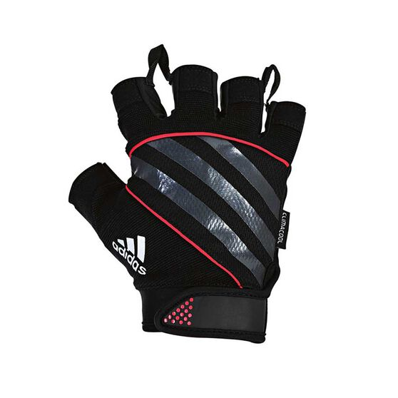 adidas Performance Weight Training Gloves, Red, rebel_hi-res