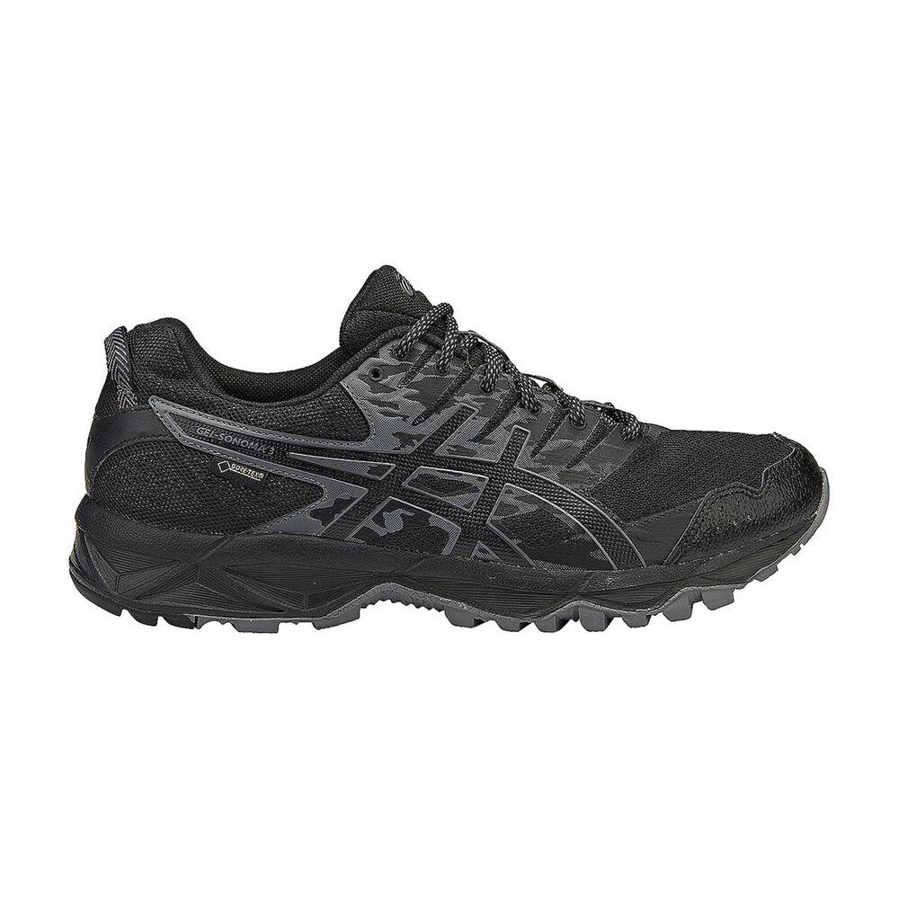 0766302838 Asics Gel Sonoma 3 GTX Mens Trail Running Shoes Black / Onyx US 8 ...