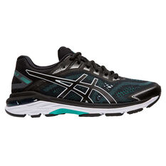 Asics GT 2000 7 Womens Running Shoes Black US 6, Black, rebel_hi-res