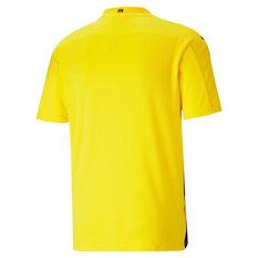 Borussia Dortmund 2020/21 Mens Home Jersey Yellow S, Yellow, rebel_hi-res