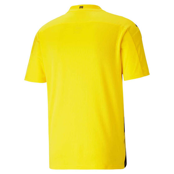 Borussia Dortmund 2020/21 Mens Home Jersey, Yellow, rebel_hi-res