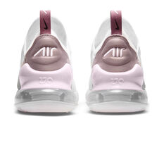 Nike Air Max 270 Essential Womens Casual Shoes, White/Yellow, rebel_hi-res