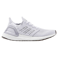 adidas Ultraboost 20 Womens Running Shoes Grey/Red US 6, Grey/Red, rebel_hi-res