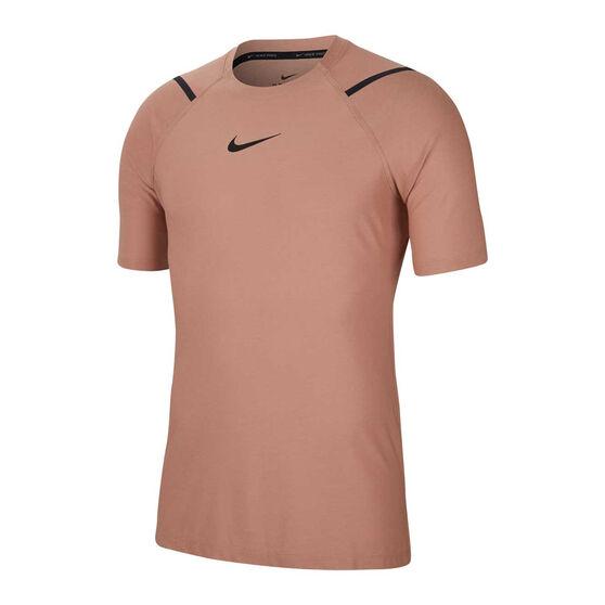 Nike Pro Mens Tee, Red, rebel_hi-res