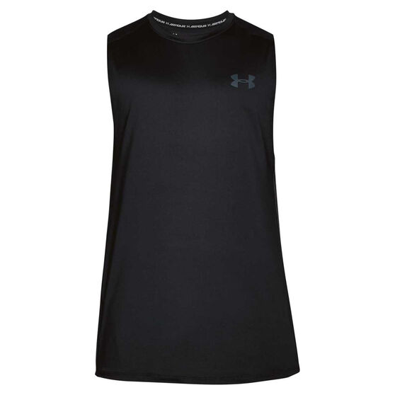 Under Armour Mens Mode Kit 1 Tank, Black, rebel_hi-res