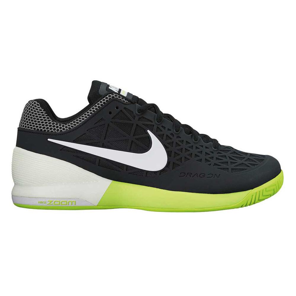 531fd1107bd1 Nike Zoom Cage 2 Mens Tennis Shoes Black   White US 7
