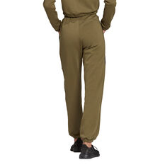 adidas Womens Hyperglam High-Rise Sweatpants Khaki XS, Khaki, rebel_hi-res