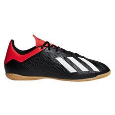adidas X Tango 18.4 Mens Indoor Soccer Shoes Black / White US 7, Black / White, rebel_hi-res