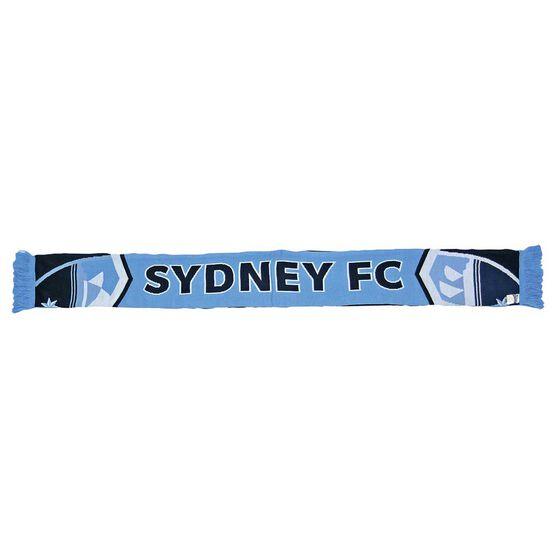 Sydney FC Cleave Jacquard Scarf, , rebel_hi-res