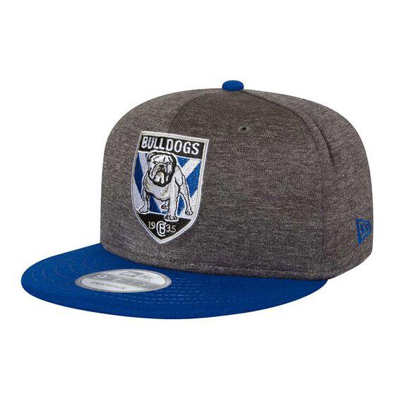 Canterbury Bulldogs 2018 New Era 9Fifty Shadow Cap Grey OSFA, , rebel_hi-res