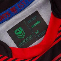 Newcastle Knights 2021 Mens Training Tee, Black, rebel_hi-res