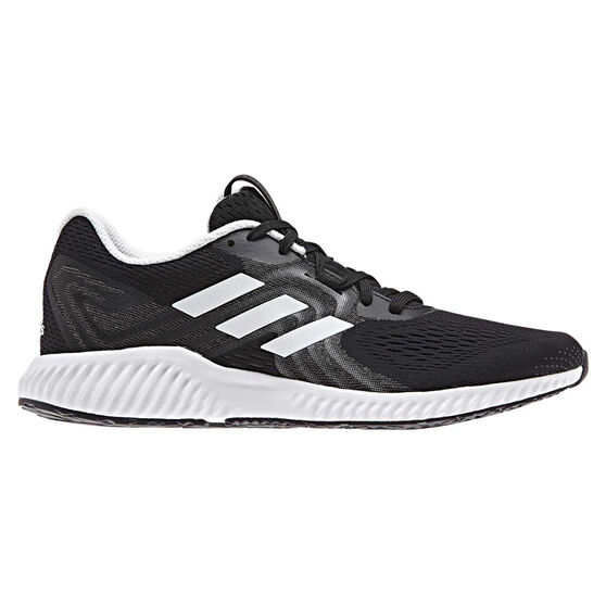 adidas Aerobounce 2 Womens Running Shoes, Black / Grey, rebel_hi-res