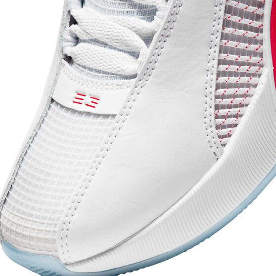 Jordan 35 Kids Basketball Shoes, White, rebel_hi-res