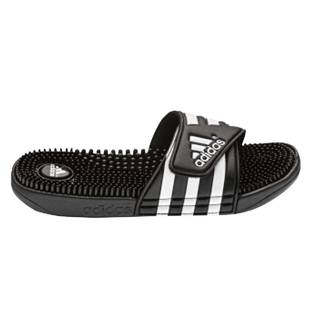 480ea669293aa5 adidas Adissage Mens Slides Black US 8