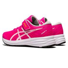 Asics Patriot 12 Kids Running Shoes, Pink, rebel_hi-res