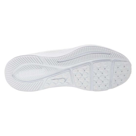 Nike Varsity Leather Kids Running Shoes, White, rebel_hi-res