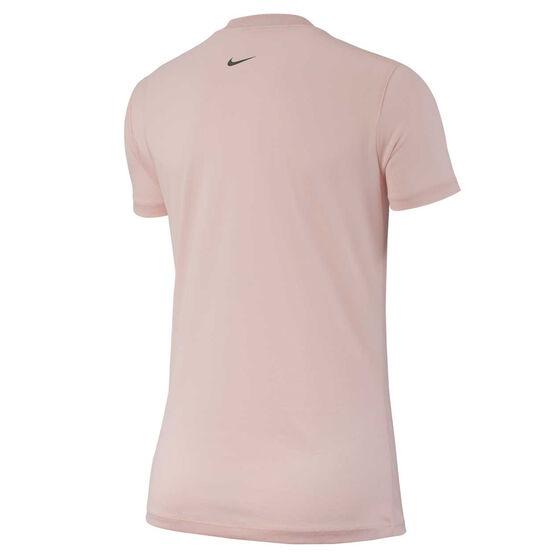 Nike Womens Dri FIT Legend Training Tee, Pink, rebel_hi-res