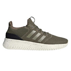 be41fac4e adidas Cloudfoam Ultimate Mens Casual Shoes Khaki   Black US 7