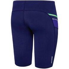 Speedo Mens Macca Jammer Blue / Green 14, Blue / Green, rebel_hi-res