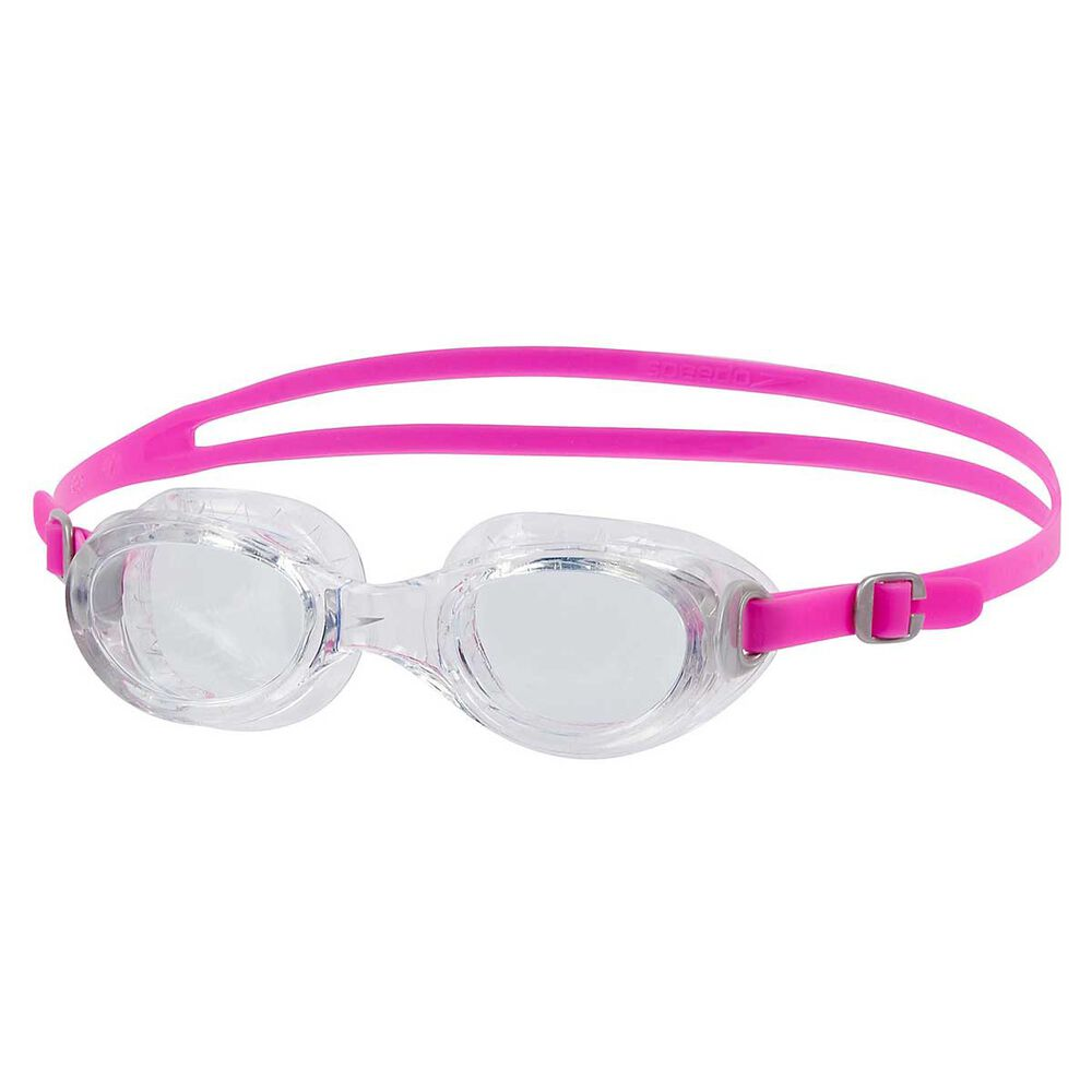 speedo futura classic womens swim goggles pink rebel sport
