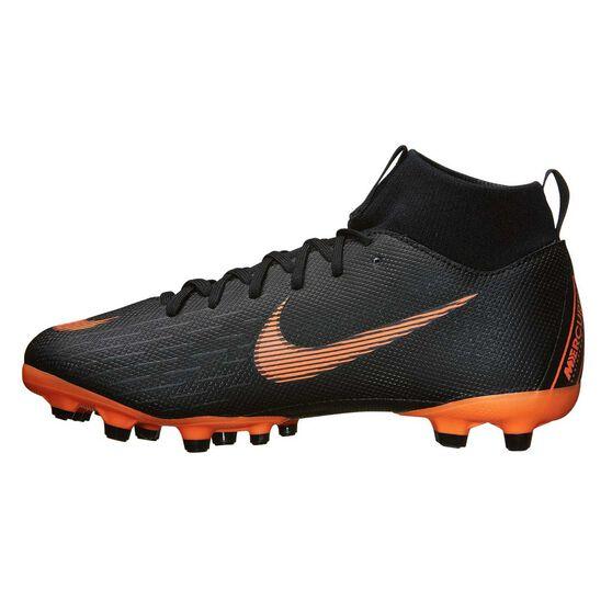 e7ed37287 Nike Mercurial Superfly 6 Academy MG Kids Football Boots Black   Orange US  5 Junior